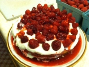 A good way to use raspberries.